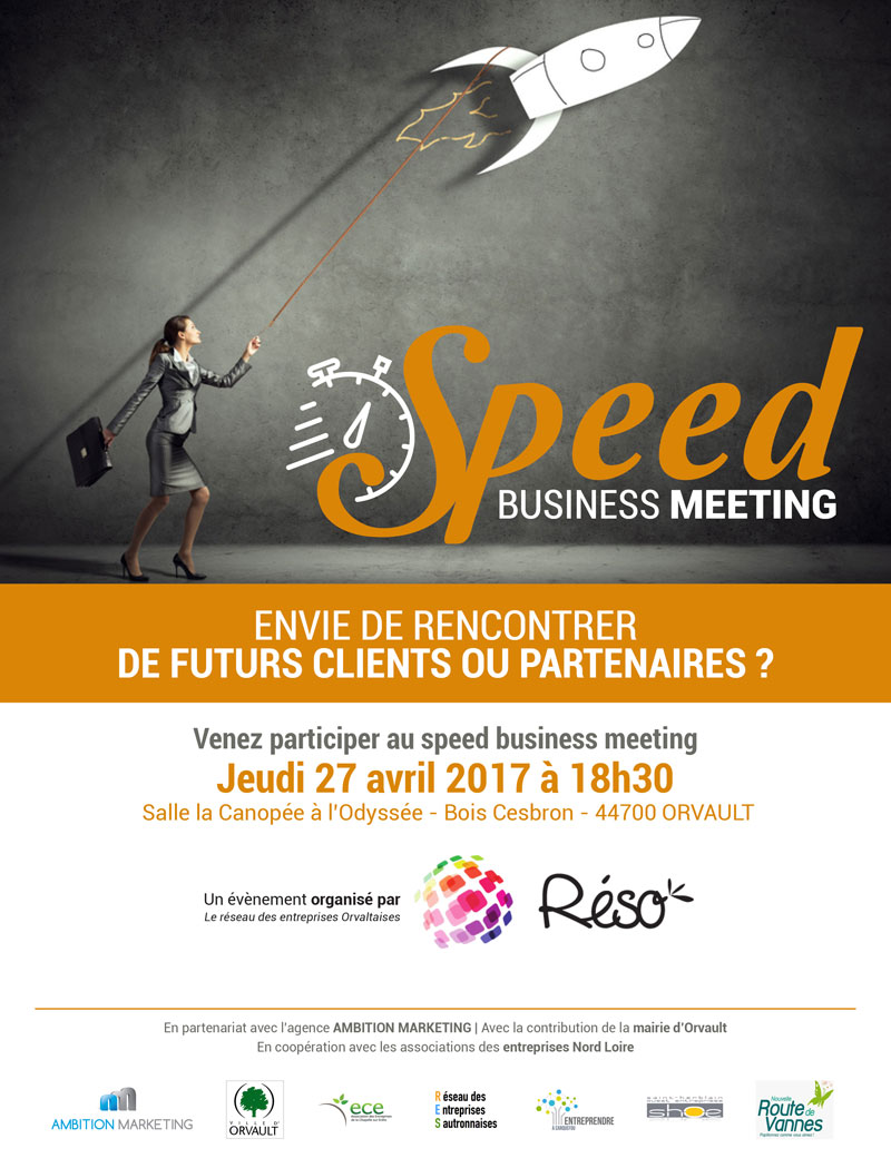 Le RESO organise son 3ème Speed Business Meeting !