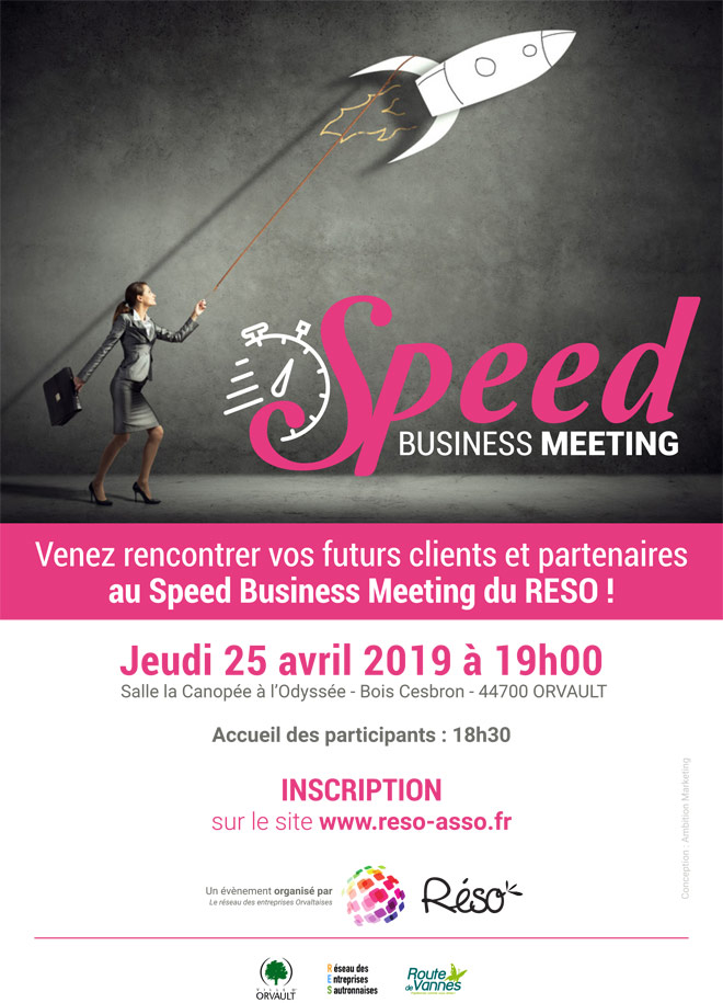 Le RESO organise son 5ème Speed Business Meeting !